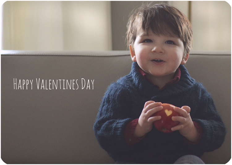 Simple Toddler Valentine hennablossom