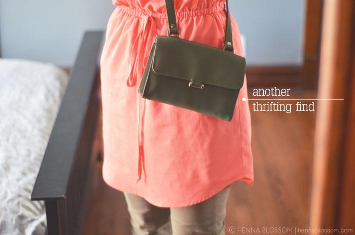 thrift store purse