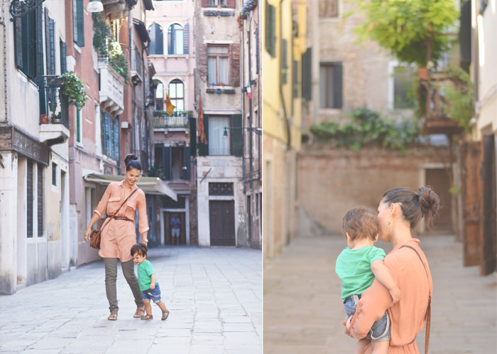 Henna and Mateo in Venice, Italy