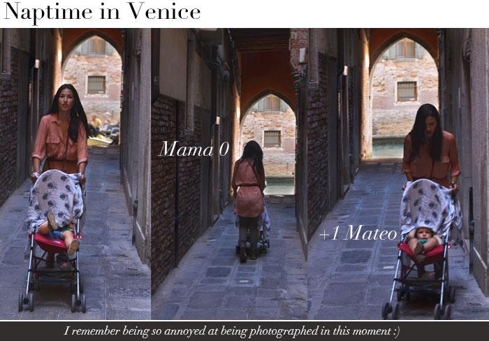 napping in Venice, Italy. no way!