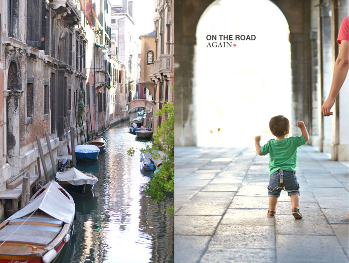 Venice, Italy with a toddler - baby suspenders