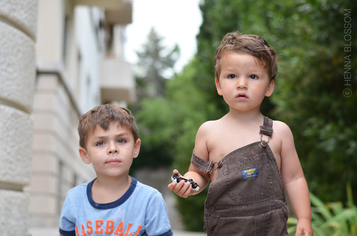 cousins in summer croatia